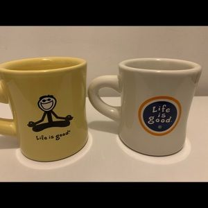 Two Life is Good Coffee Mugs